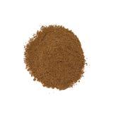 Nutmeg. Isolated on white background Royalty Free Stock Photo