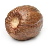 Nutmeg isolated Stock Images