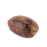 Nutmeg isolated on white background Stock Photography