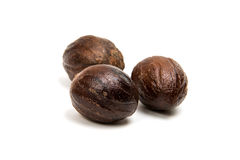 Nutmeg isolated Stock Photo