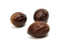 Nutmeg isolated Stock Image