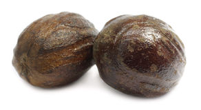 Nutmeg or Jaifal Spice Stock Photography