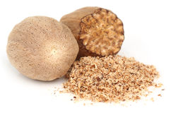 Nutmeg or Jaifal Spice Royalty Free Stock Photo