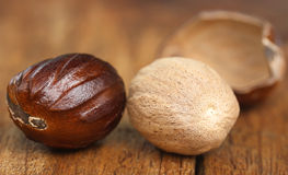 Nutmeg or Jaifal Spice Royalty Free Stock Image