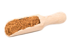 Nutmeg powder in scoop Stock Photography