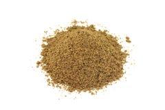 Nutmeg powder Stock Photo