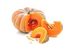 Free Nutmeg Pumpkin On White Royalty Free Stock Image - 102953966