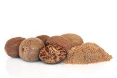 Nutmeg Spice Royalty Free Stock Image