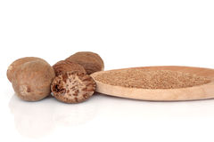 Nutmeg Spice Royalty Free Stock Image