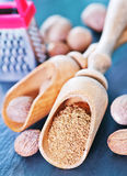 Nutmeg Stock Image