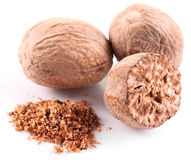 Nutmeg. Royalty Free Stock Photo