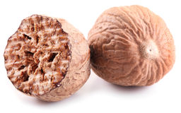 Nutmeg. Stock Photos