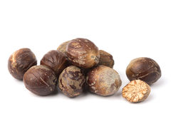 Nutmegs royalty free stock photo