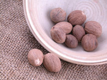 Nutmegs Royalty Free Stock Photos