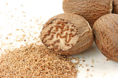 Nutmegs Royalty Free Stock Photo