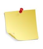 nutowy kleisty kolor żółty Fotografia Royalty Free