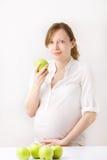 Nutrição da gravidez Imagens de Stock