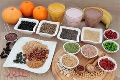 Nutrição saudável para construtores de corpo Fotos de Stock Royalty Free