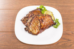 Of nutria ribs grilled Stock Images