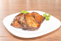 Of nutria ribs grilled Stock Photos