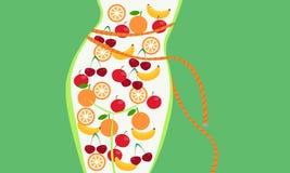 Nutrición apropiada libre illustration