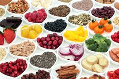Nutrición para un corazón sano imagen de archivo