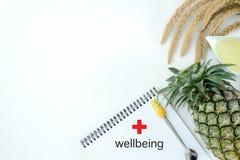 Nutrición vegetal sana y medicación de la dieta de la dieta quetogénica sana del bienestar foto de archivo libre de regalías