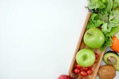 Nutrición vegetal sana y medicación de la dieta de la dieta quetogénica sana del bienestar fotos de archivo libres de regalías