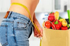 Nutrición y dieta sanas fotografía de archivo