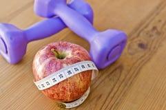 Nutrición y ejercicio Fotografía de archivo libre de regalías