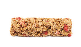 Nutrient chewy grains bar isolated Stock Photography