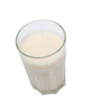 Nutrient glass of milk Royalty Free Stock Photos