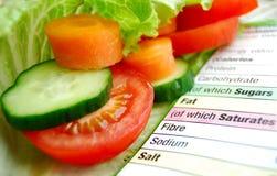 Nutrição do vegetariano Imagem de Stock