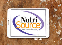Nutrisource pet food logo Royalty Free Stock Photos
