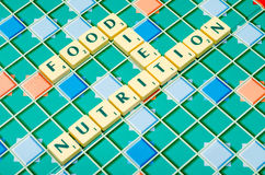 Nutrition Royalty Free Stock Photography