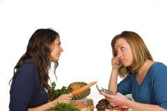 Nutrition choices Stock Photos