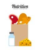 Nutrition concept design Stock Photo