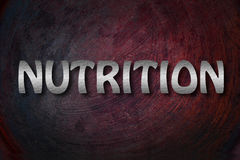 Nutrition Concept Royalty Free Stock Images