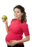 Nutrition de grossesse images libres de droits