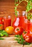 Nutrition de tomates Images stock