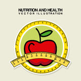Nutrition design Royalty Free Stock Photography