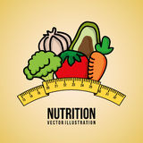 Nutrition royalty free illustration