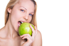 Nutrition et beauté saines Photos libres de droits