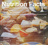 Nutrition Facts Medical Diet Nutritional Concept Royalty Free Stock Photography