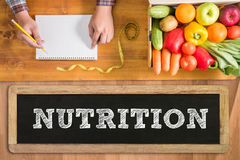 NUTRITION stock images