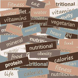 Nutrition Stock Image
