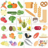 Nutrition healthy food Stock Images