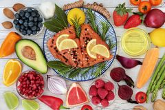 Nutrition for a Healthy Heart Royalty Free Stock Photos