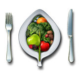 Nutrition Healthy Lifestyle royalty free illustration