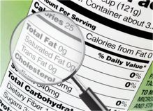 Free Nutrition Label Stock Photos - 12497453